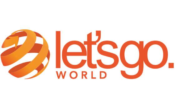 Let's Go World logo